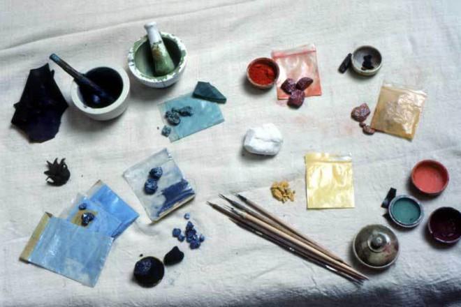 Инструменты тханкописца