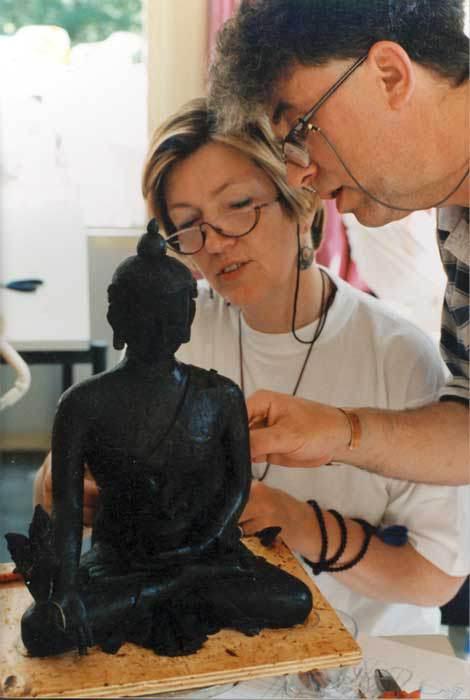 Урок скульпторского мастерства