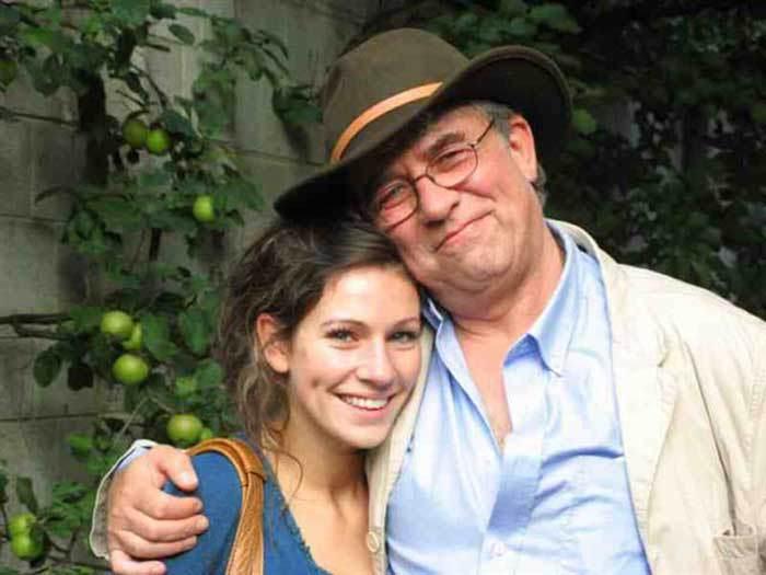 Энди с дочерью
