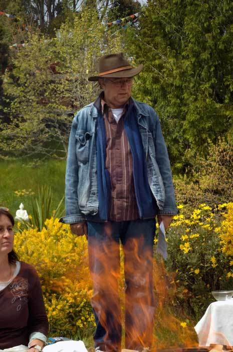 Энди на огненной пудже