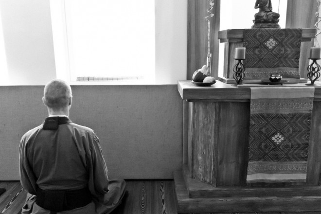 Zazen at Helsinki Zen Center